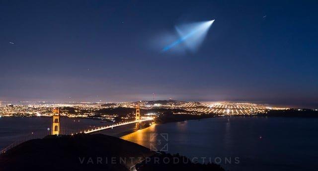 Strategisk rakettprøve skremmer folk i California