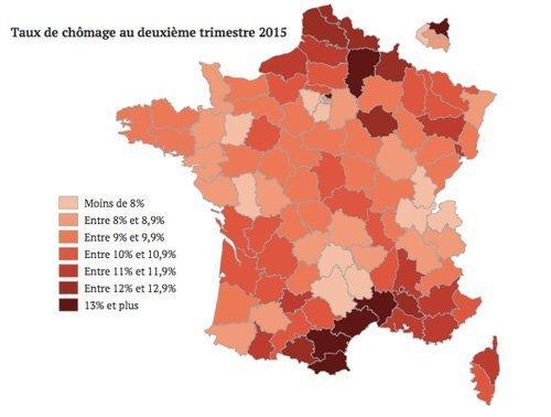 arbeidsløshet frankrike 2015 b