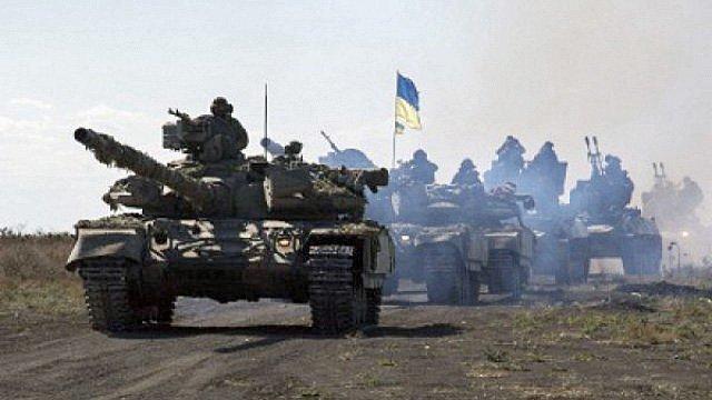 ukraine artilleri