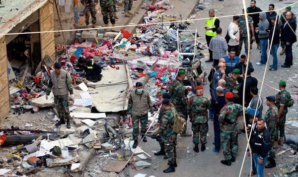 Bombings in the Burj al-Barajneh neighborhood of Beirut, Lebanon. Credit Bilal Hussein/Associated Press