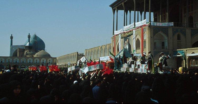 Massemøte i Esfahan