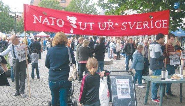 NATO ut av Sverige, ja, og hvorfor ikke NATO ut av Norge?