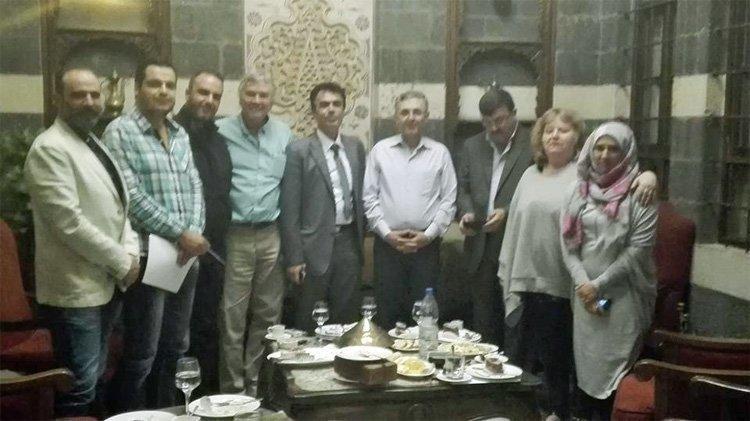 Møte med forsoningsminister Ali-Haydar