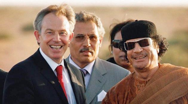 blair gaddafi