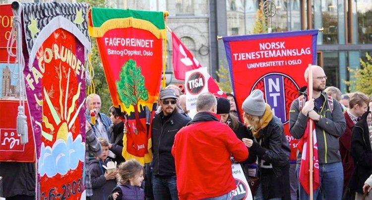 Demonstrasjon mot TISA