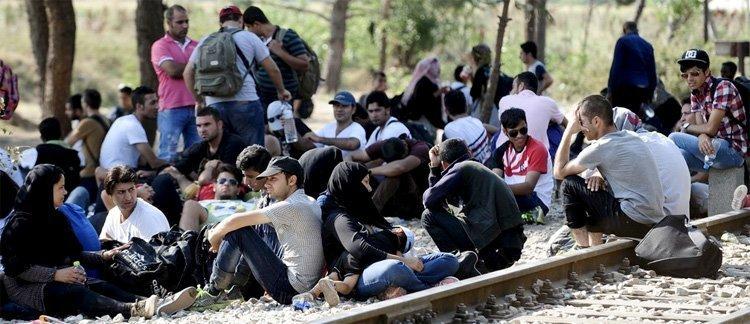 Illustrasjon til WEFs agenda for massemigrasjon