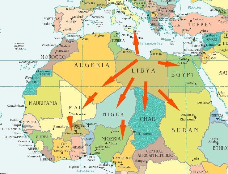 is libya afrika kart