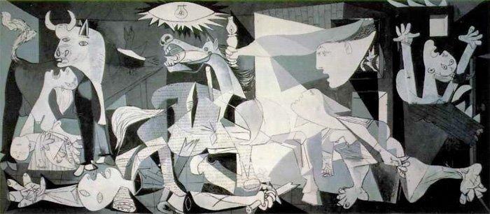 Pablo Picassos maleri Guernica