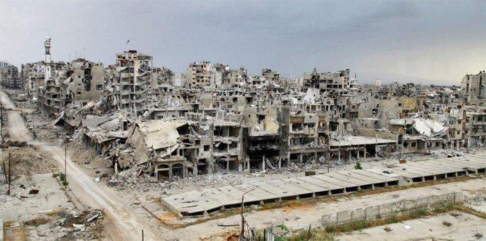 homs ruins