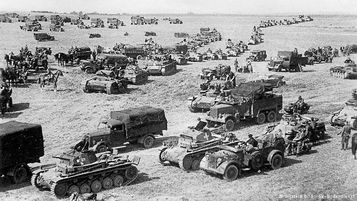 Fra den tyske invasjonen i Polen i september 1939