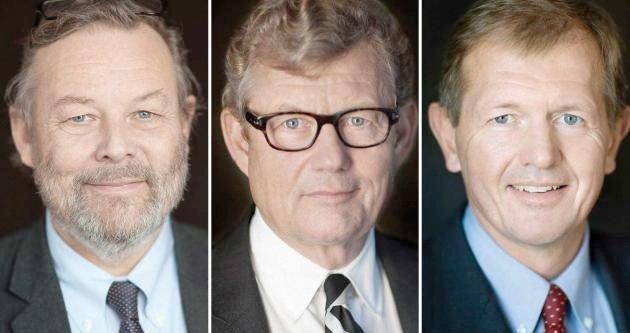 Fetterne Peter, Marcus og Jacob Wallenberg styrer idag familien.