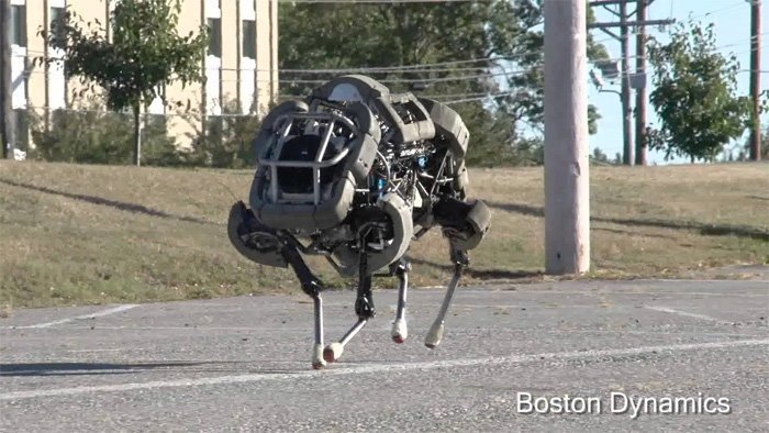 Wild Cat robot from Boston Dynamics