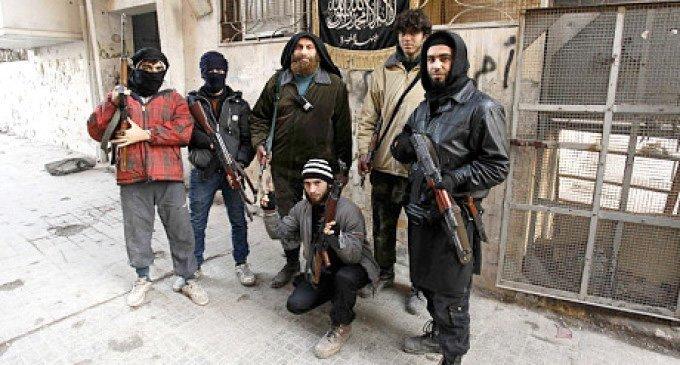 Jihadister fra al-Nusra i Aleppo