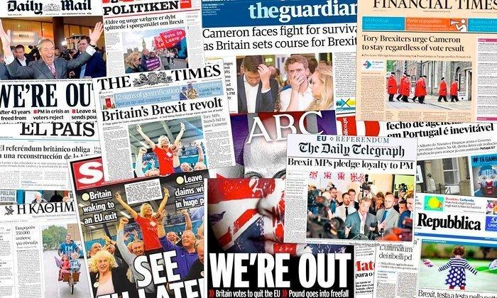 brexit presse