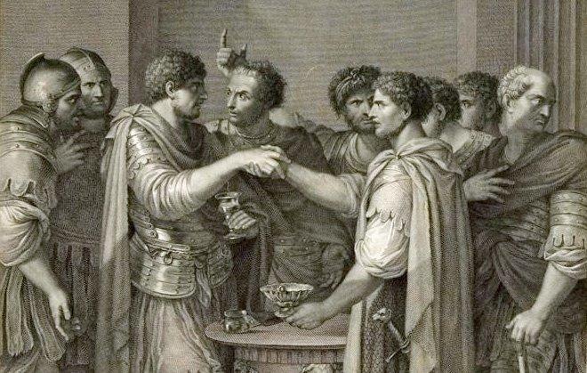 Catilina-konspirasjonen, et forsøk på å styrte den romerske republikken i 63-62 f.Kr.