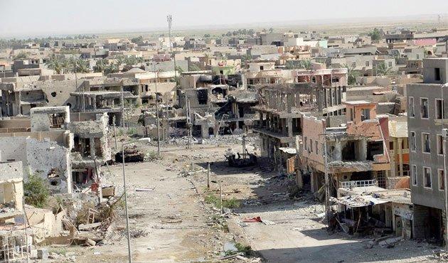 Ramadi etter bombinga
