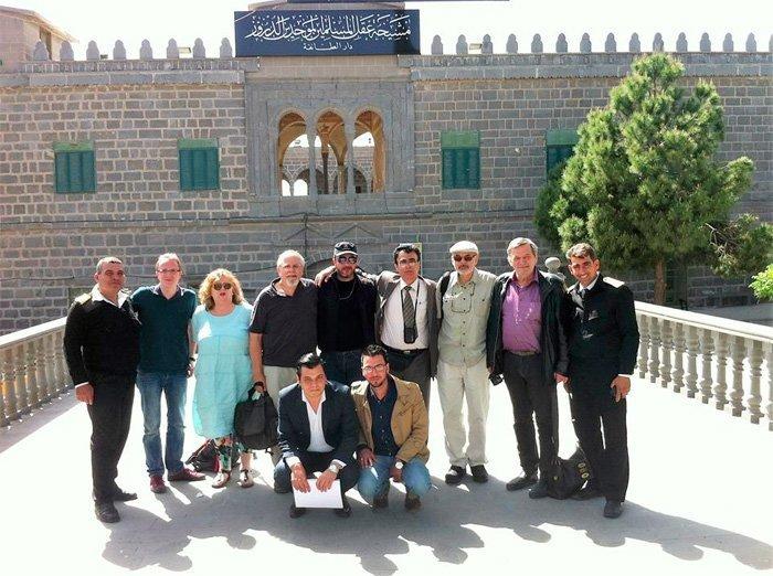 Syria april 2016, Roald Aune nr. 2 fra høyre