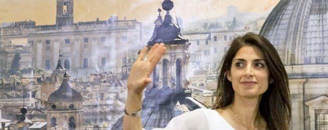 Virginia Raggi blir ny ordfører i Roma