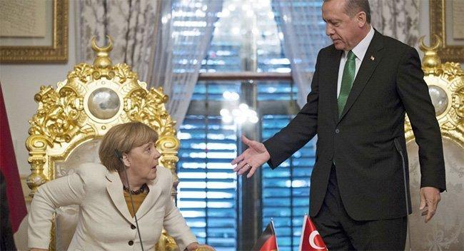 Erdogan har vist evne til å påvirke Angela Merkel