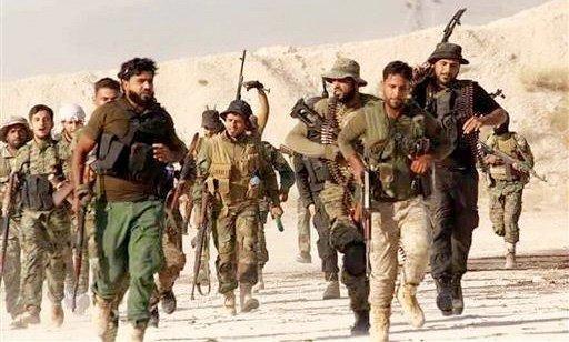 new syrian army