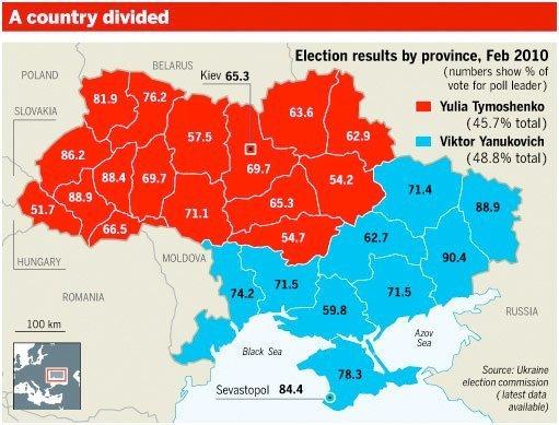 ukraina valg 2010