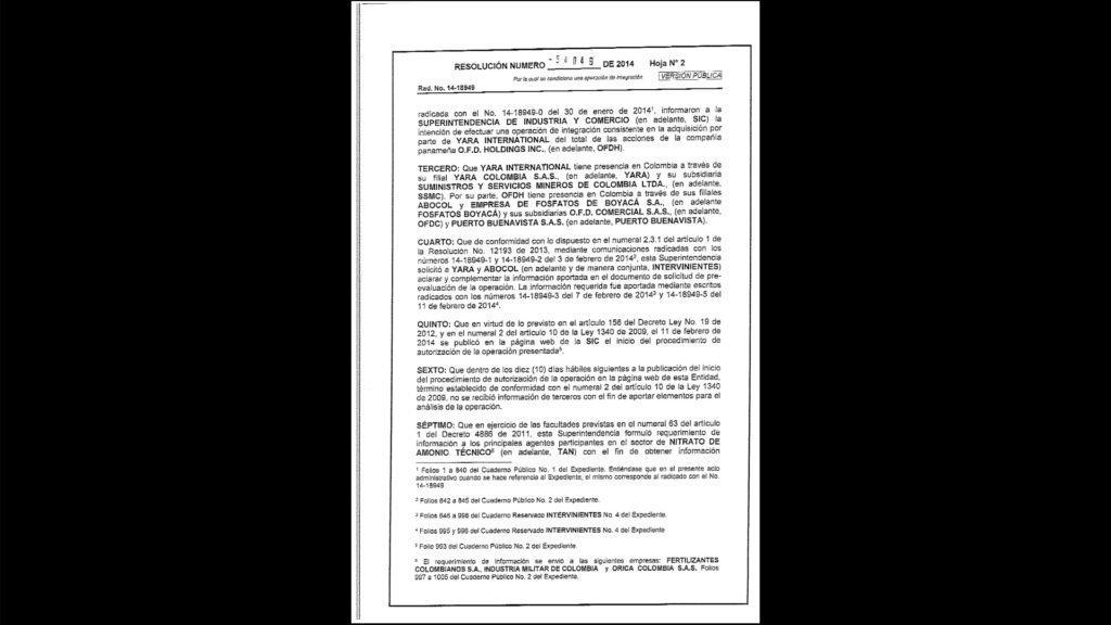 Kontrakten viser at det er et Panama-selskap