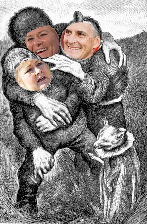 trehodet troll store solberg jensen