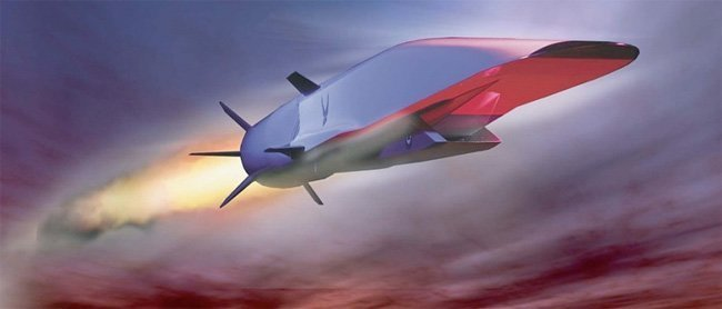 Kinas hypersoniske Mach5 missil
