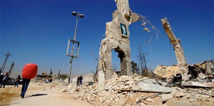 Ødeleggelsen av Syrias økonomi er verre enn Tyskland etter 2. verdenskrig