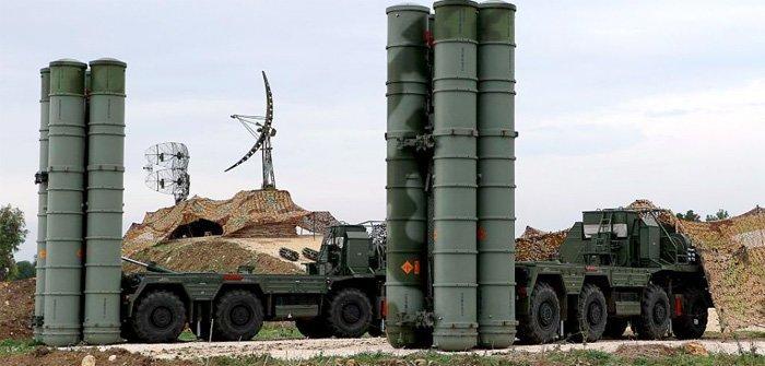 Russiske antiluftskyts av typen s300
