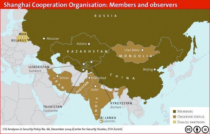 Gjennom SCO bygger Kina og Russland allianser over hele det eurasiske kontinentet