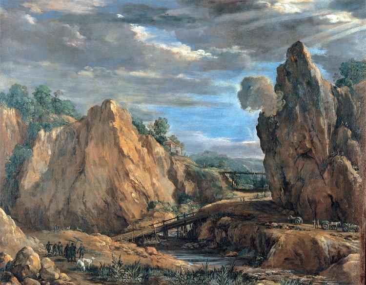 Pietro da Cottona: Alungruver i Tolfa