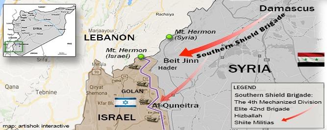 Die Syrische Armee kämpfte eine Terroristen-Basis bei den ...