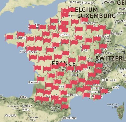 26befde78 Frankrike kart byer