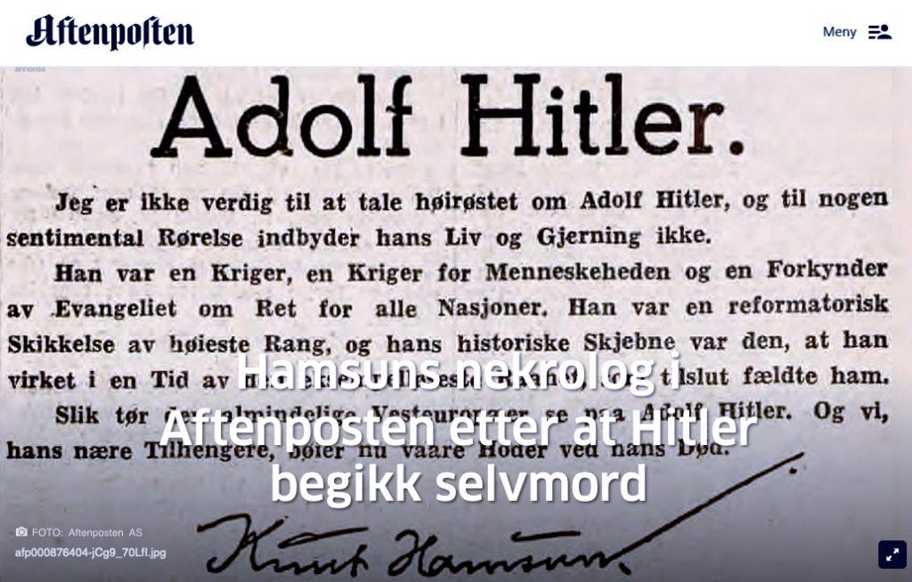 a6014771 I desemberutgaven (2018) av Aftenpostens historiemagasin er Aftenposten så  generøse at de kaller Stalin for «den kalde krigens far».