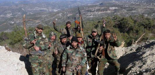 Syrias hær med offensiv mot terroristene i Latakia
