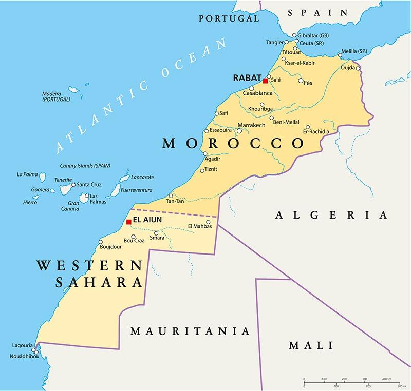 Dette bildet har en tom alt-tekst; dets filnavn er vest-sahara-kart2.jpg